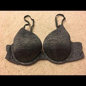 34B Victoria's Secret dark gray bra